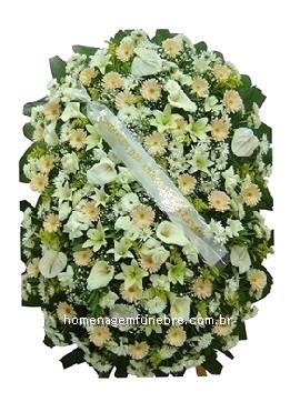 coroa de flores B7