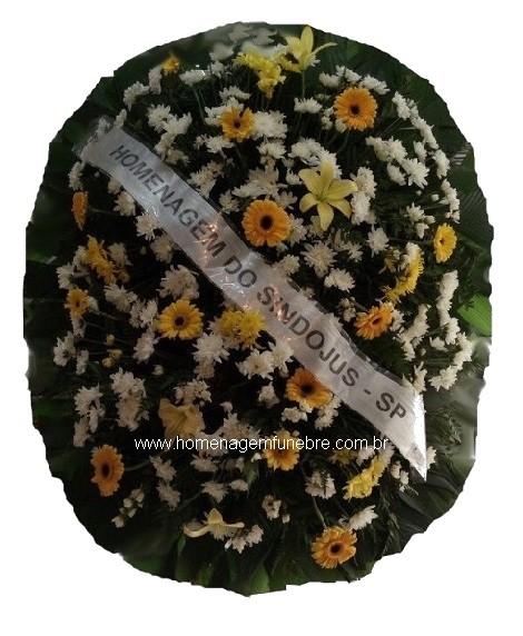 coroa de flores B16