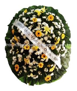 coroa de flores A12