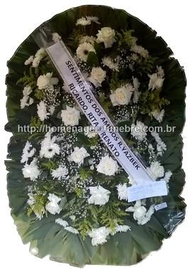 coroa de flores B19