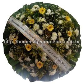 coroa de flores A17