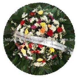 coroa de flores A19