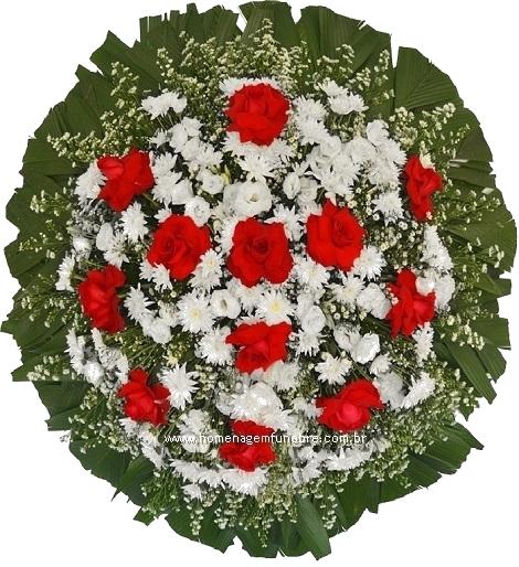 coroa de flores A4