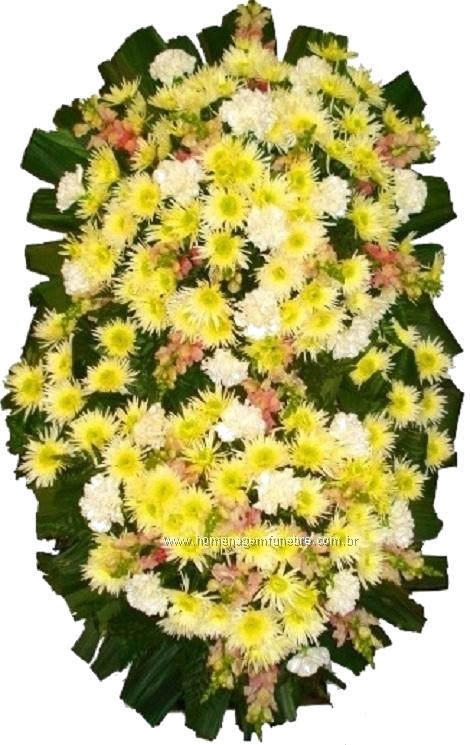coroa de flores B6