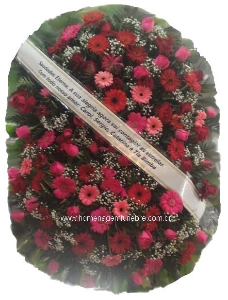 coroa de flores B15