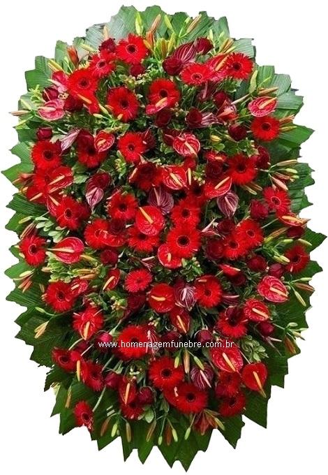 coroa de flores B12