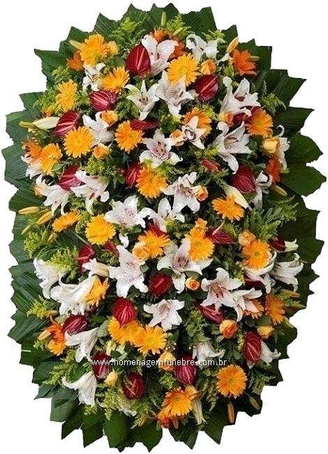 coroa de flores B13