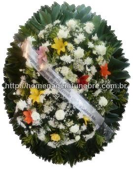 coroa de flores A14