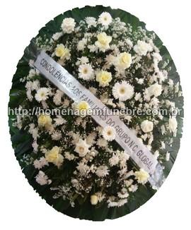 coroa de flores A18