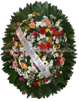 coroa de flores B10